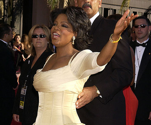 Oprah Winfrey stole the show at the 2002 Emmys.