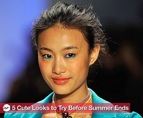 5 Makeup and Hair Trends to Try Before Summer Ends