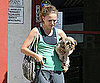 Slide Picture of Natalie Portman and Her Dog