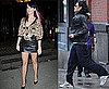 Pictures of Katy Perry With Colours In Her Hair and Russell Brand in NYC
