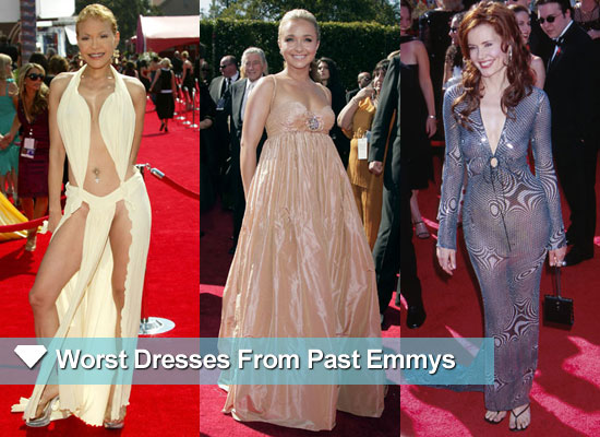 Red Carpet Rewind: Emmys Worst Dressed