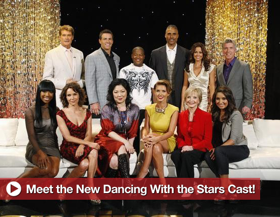 Meet the New Dancing With the Stars Cast!