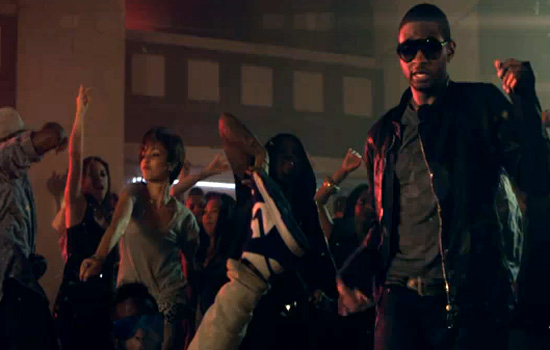 "Sweetest Dance Moves: Usher in ""DJ Got Us Fallin' in Love"""