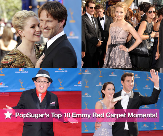 PopSugar&#039;s Top 10 Emmy Red Carpet Moments!