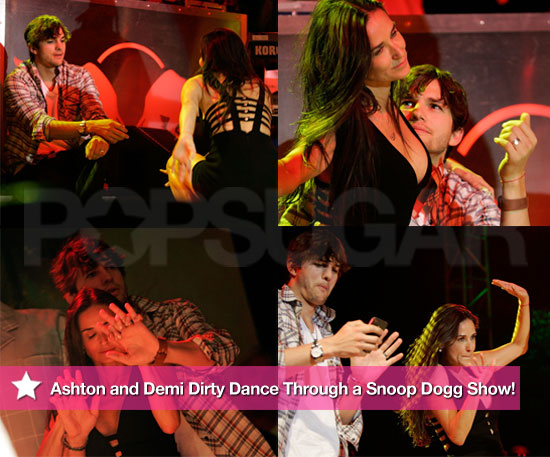 Pictures of Ashton Kutcher and Demi Moore Dancing Drunkenly With Snoop Dogg 2010-08-30 10:30:00