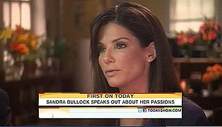 Video of Sandra Bullock on The Today Show