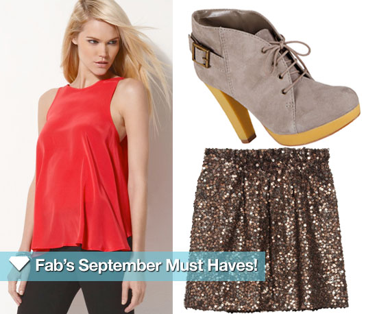 Fab's September Must Haves — Red, Chunky, Sparkly!
