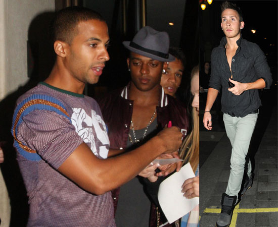 Picture of JLS and Big Brother's JJ