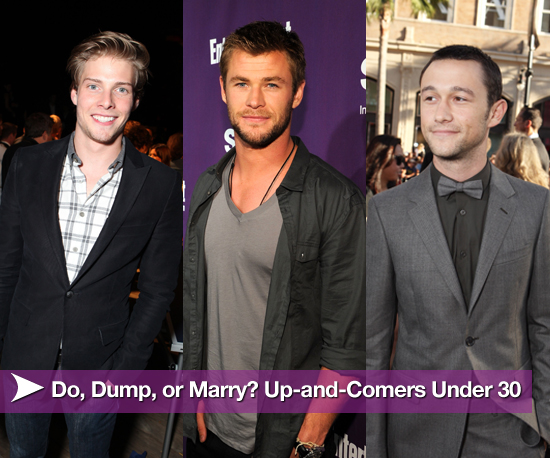 Do, Dump, or Marry: 10 Up-and-Comers Under 30