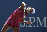 Venus Williams Goes Sideways