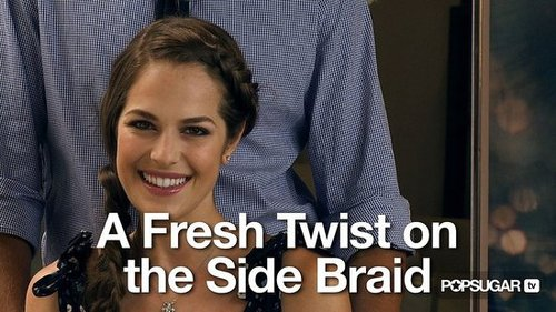 Video Tutorial: How to Create a French/Side Braid
