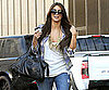 Slide Picture of Kim Kardashian Carrying a Balenciaga Bag in LA