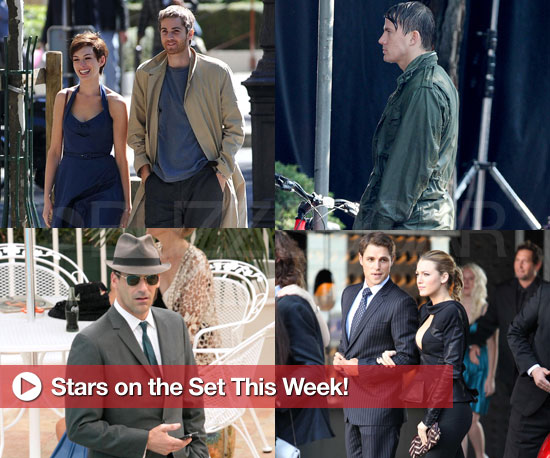 Jon Hamm, Rachel McAdams, and More Stars on the Set This Week!