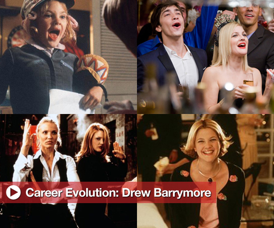 Drew Barrymore's Biggest Movie and TV Roles