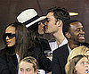 Slide Picture of Jessica Szohr and Ed Westwick at US Open