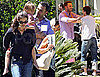 Pictures of Ben Affleck With Casey Affleck and Their Families in LA