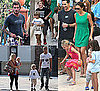 Pictures from the Beckham&#039;s Birthday Party