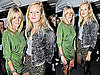 Pictures of Sienna and Savannah Miller Attending Announcement of 2010 Nominees For British Fashion Awards