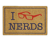 Student Lounge Nerds Doormat
