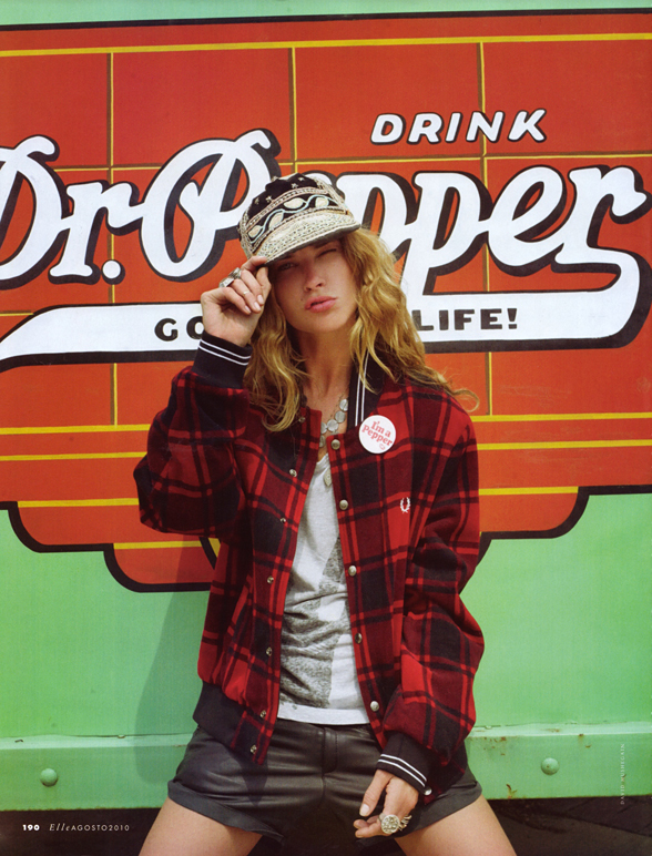 Erin Wasson's Fab Texan-Style Tribute to the USA