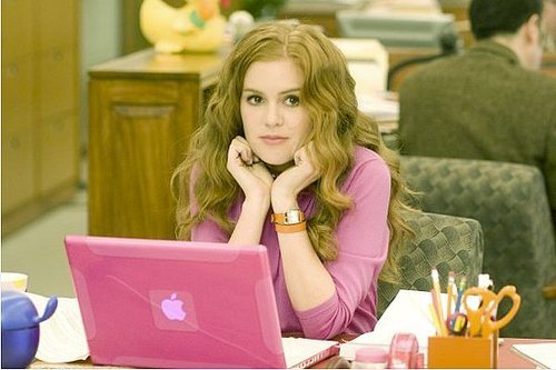 Confessions of a Shopaholic Pink Mac Laptop