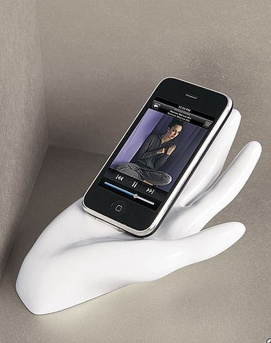 Hand Shaped iPhone Stand From Neiman Marcus