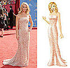 Get Claire Danes's Sparkly Emmy Dress on PopSugar's Retail Therapy!