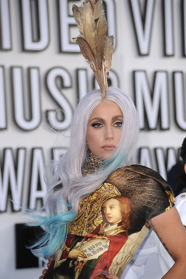 Pictures of Lady Gaga at VMAs