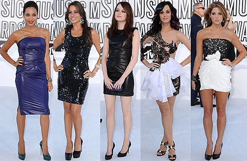 Pictures of Katy Perry, Audrina Patridge, Lo Bosworth, Stephanie Pratt, Selena Gomez, Emma Stone, Lady Gaga at 2010 MTV VMAS 2010-09-12 22:02:00