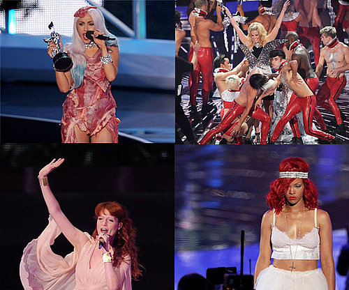 The best of all the 2010 MTV Video Music Awards fashion, from the red carpet to the press room.