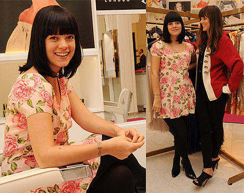 Pregnant Lily Allen launches her pop-up shop Lucy In Disguise in London