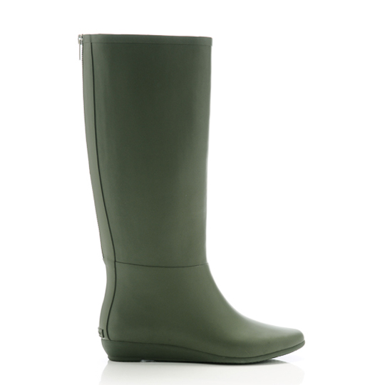 Rain Boot in Army, $195