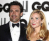 Slide Picture of Jon Hamm and Jennifer Westfeldt at the GQ Men of the Year Awards in London
