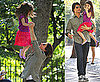 Pictures of Tom Cruise and Suri Cruise on a Playdate in Central Park