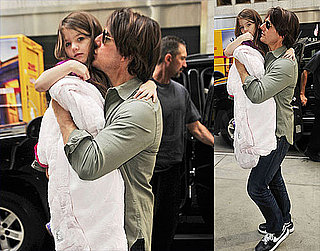 Pictures of Tom Cruise, Suri Cruise, Isabella Cruise, and Connor Cruise Shopping at FAO Schwartz in NYC