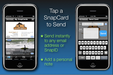 SnapDat Digital Business Cards