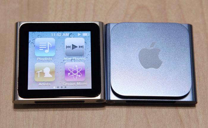 Photos of New iPod Nano