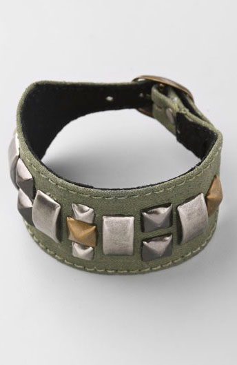 Kettle Black Military Stud Bracelet ($81, originally $115)