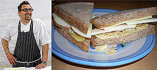 Out of the Lunch Box: Chris Cosentino's Cheddar, Apple & Almond Sandwich