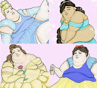 Obese Disney Princesses