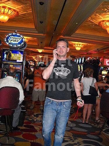 """Socialite Michael Dean Shelton Gambling At The Spa Resort Casino"""