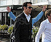 Slide Picture of Clive Owen Shopping With Friends in Venice