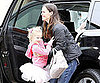 Slide Picture of Jennifer Garner and Violet Affleck Going to Ballet Class in LA