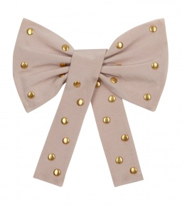 Alice by Temperley Blush Wild Cat Studded Brooch ($66)