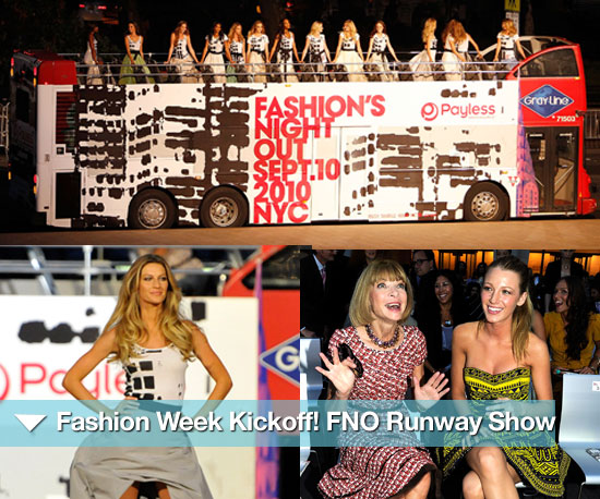 Fashion Week Kickoff! Celebs and Fashion Insiders Step Out For FNO Runway Show