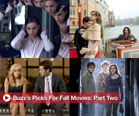 Buzz's Picks For Fall Movies: Part Two