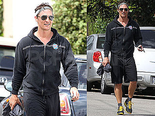 Pictures of Matthew McConaughey Leaving the Gym in LA