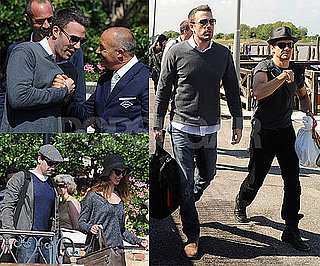 Pictures of Ben Affleck, Jon Hamm, Jeremy Renner, Rebecca Hall Leaving Venice Film Festival