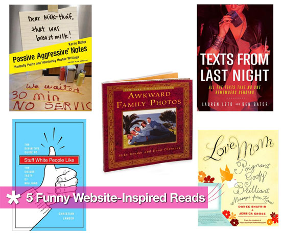 Books Inspired By Popular Funny Blogs