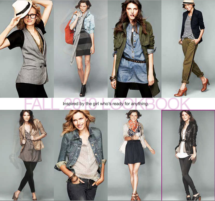 Eight fabulously fresh Fall '10 looks. Now, we go look by look . . .